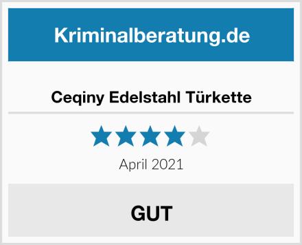 Ceqiny Edelstahl Türkette Test