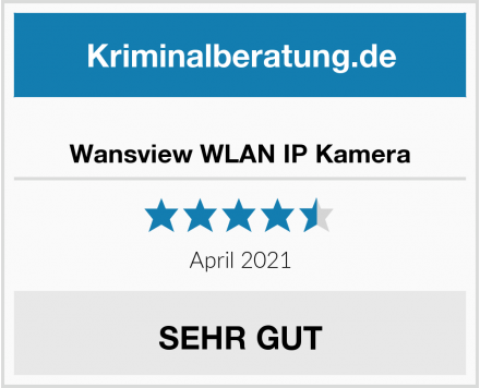 Wansview WLAN IP Kamera Test