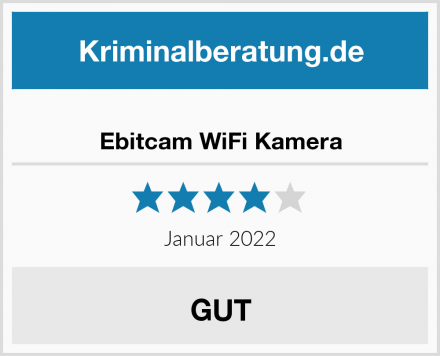 Ebitcam WiFi Kamera Test