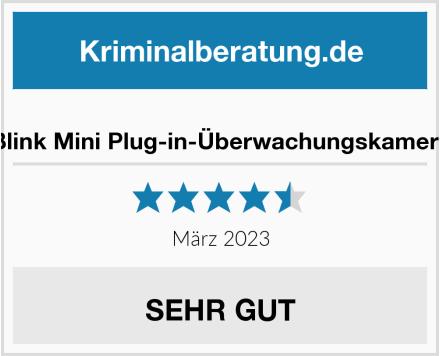 Blink Mini Plug-in-Überwachungskamera Test