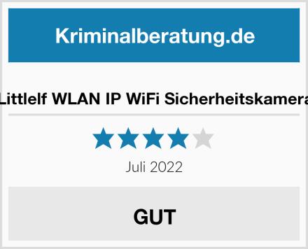 Littlelf WLAN IP WiFi Sicherheitskamera Test