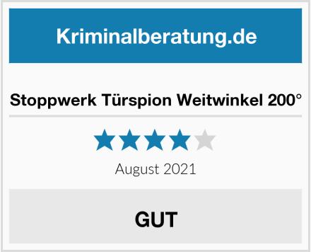 Stoppwerk Türspion Weitwinkel 200° Test