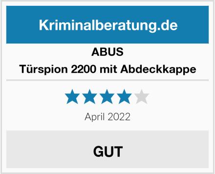 ABUS Türspion 2200 mit Abdeckkappe Test