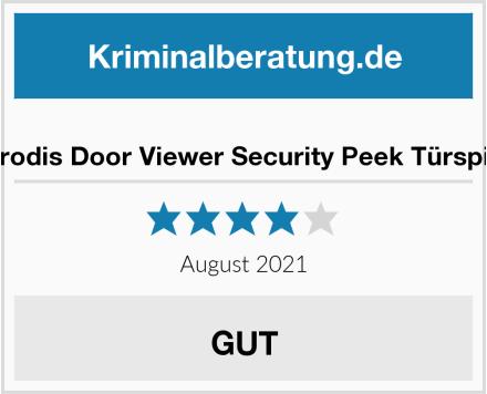 Zerodis Door Viewer Security Peek Türspion Test