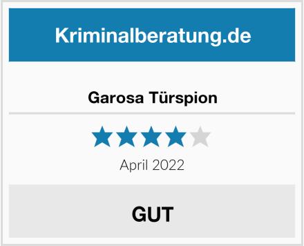 Garosa Türspion Test