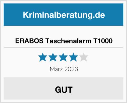 ERABOS Taschenalarm T1000 Test