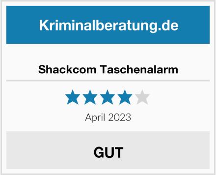 Shackcom Taschenalarm Test