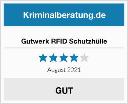 Gutwerk RFID Schutzhülle Test