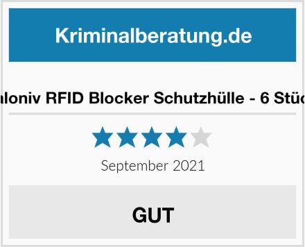 valoniv RFID Blocker Schutzhülle Test