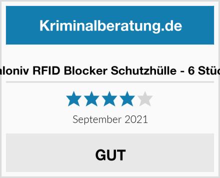 valoniv RFID Blocker Schutzhülle - 6 Stück Test