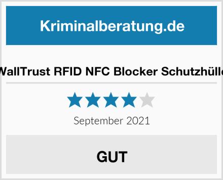 WallTrust RFID NFC Blocker Schutzhülle Test