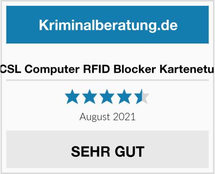 CSL Computer RFID Blocker Kartenetui Test