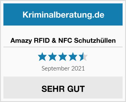 Amazy RFID & NFC Schutzhüllen Test