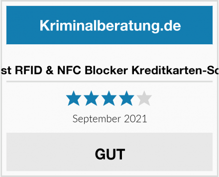 Peoplebest RFID Blocker Schutzhülle Test