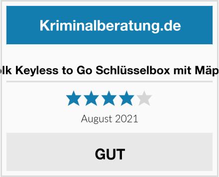 Samfolk Keyless to Go Schlüsselbox mit Mäppchen Test