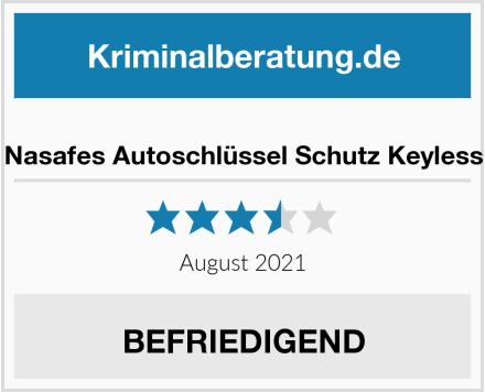 Nasafes Autoschlüssel Schutz Keyless Test
