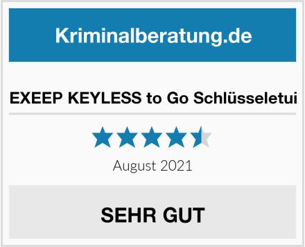 EXEEP KEYLESS to Go Schlüsseletui Test