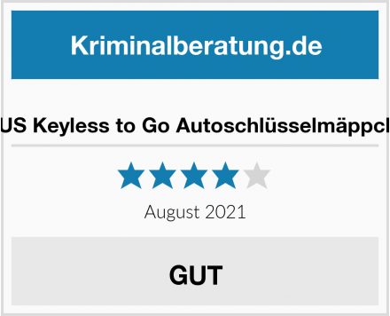 ESUS Keyless to Go Autoschlüsselmäppchen Test