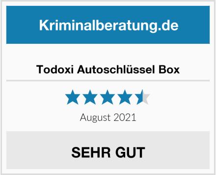 Todoxi Autoschlüssel Box Test