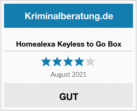 Homealexa Keyless to Go Box Test