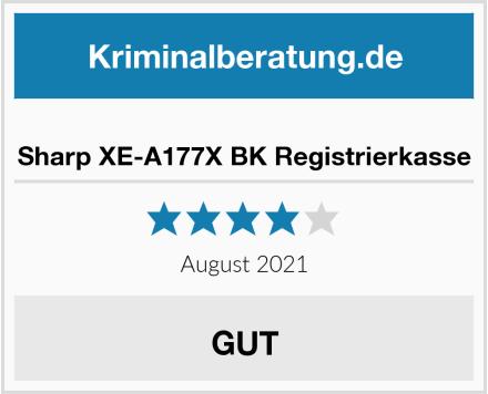 Sharp XE-A177X BK Registrierkasse Test