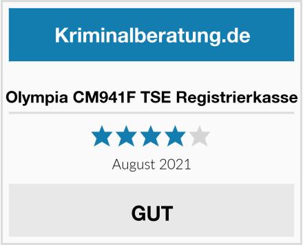 Olympia CM941F TSE Registrierkasse Test