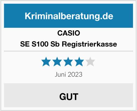 Casio SE S100 Sb Registrierkasse Test