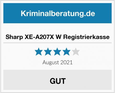 Sharp XE-A207X W Registrierkasse Test