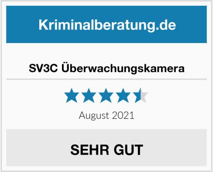 SV3C Überwachungskamera Test