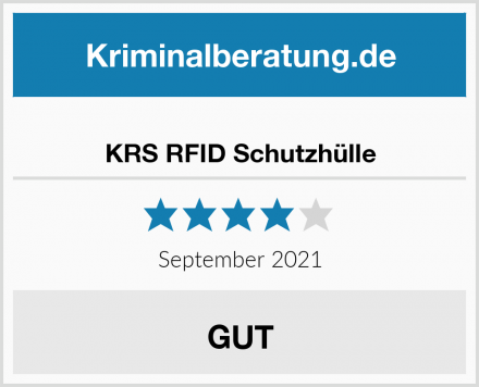 KRS RFID Schutzhülle Test