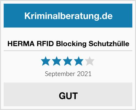 HERMA RFID Blocking Schutzhülle Test