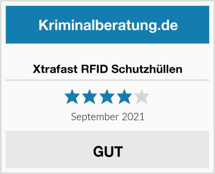 Xtrafast RFID Schutzhüllen Test
