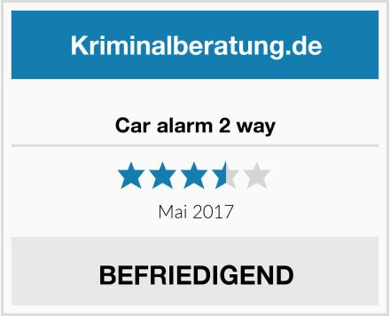 Finel Sell Car alarm 2 way Test
