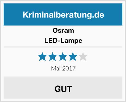 Osram LED-Lampe Test