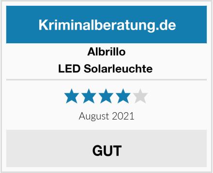 Albrillo LED Solarleuchte  Test