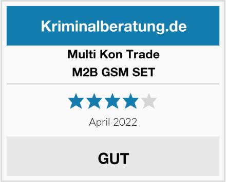 Multi Kon Trade M2B GSM SET Test