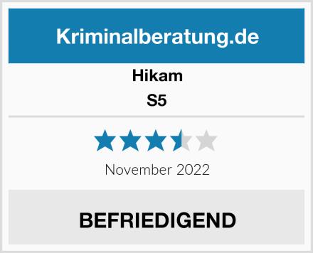 HiKam S5 Test