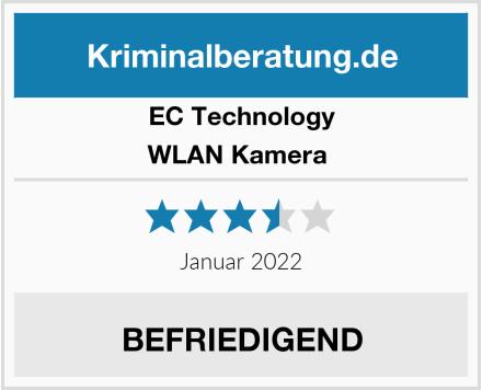 EC Technology WLAN Kamera  Test