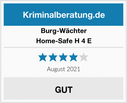 Burg-Wächter Home-Safe H 4 E Test
