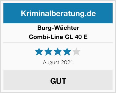 Burg-Wächter Combi-Line CL 40 E Test