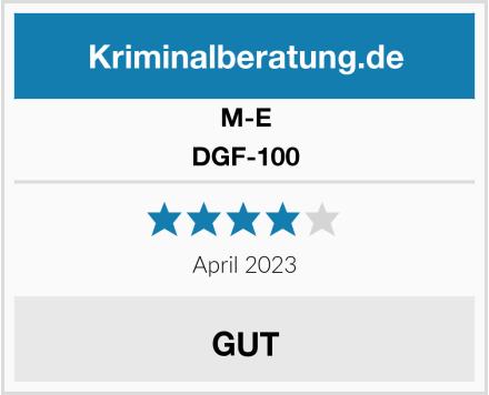 M-E DGF-100 Test