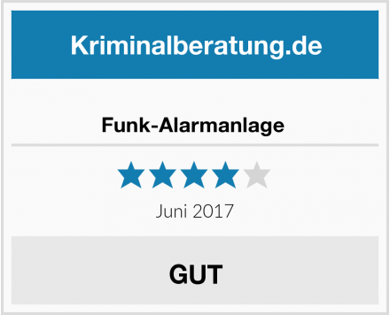 Finel Sell Funk-Alarmanlage  Test