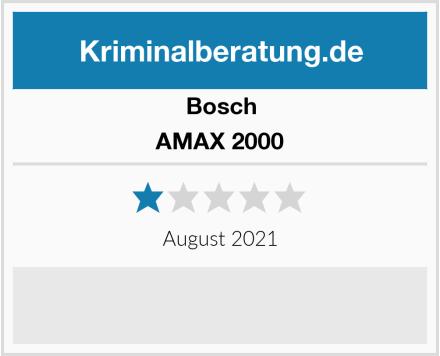 Bosch AMAX 2000 Test