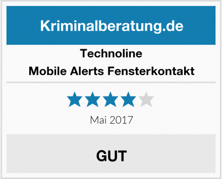 Technoline Mobile Alerts Fensterkontakt Test