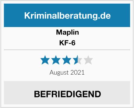 Maplin KF-6 Test