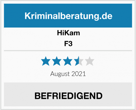 HiKam F3 Test