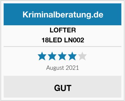 LOFTER 18LED LN002 Test