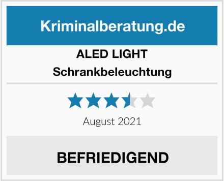 ALED LIGHT Schrankbeleuchtung Test