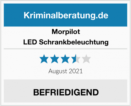 Morpilot LED Schrankbeleuchtung Test