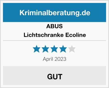 ABUS Lichtschranke Ecoline Test
